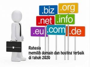 memilih domain dan hosting