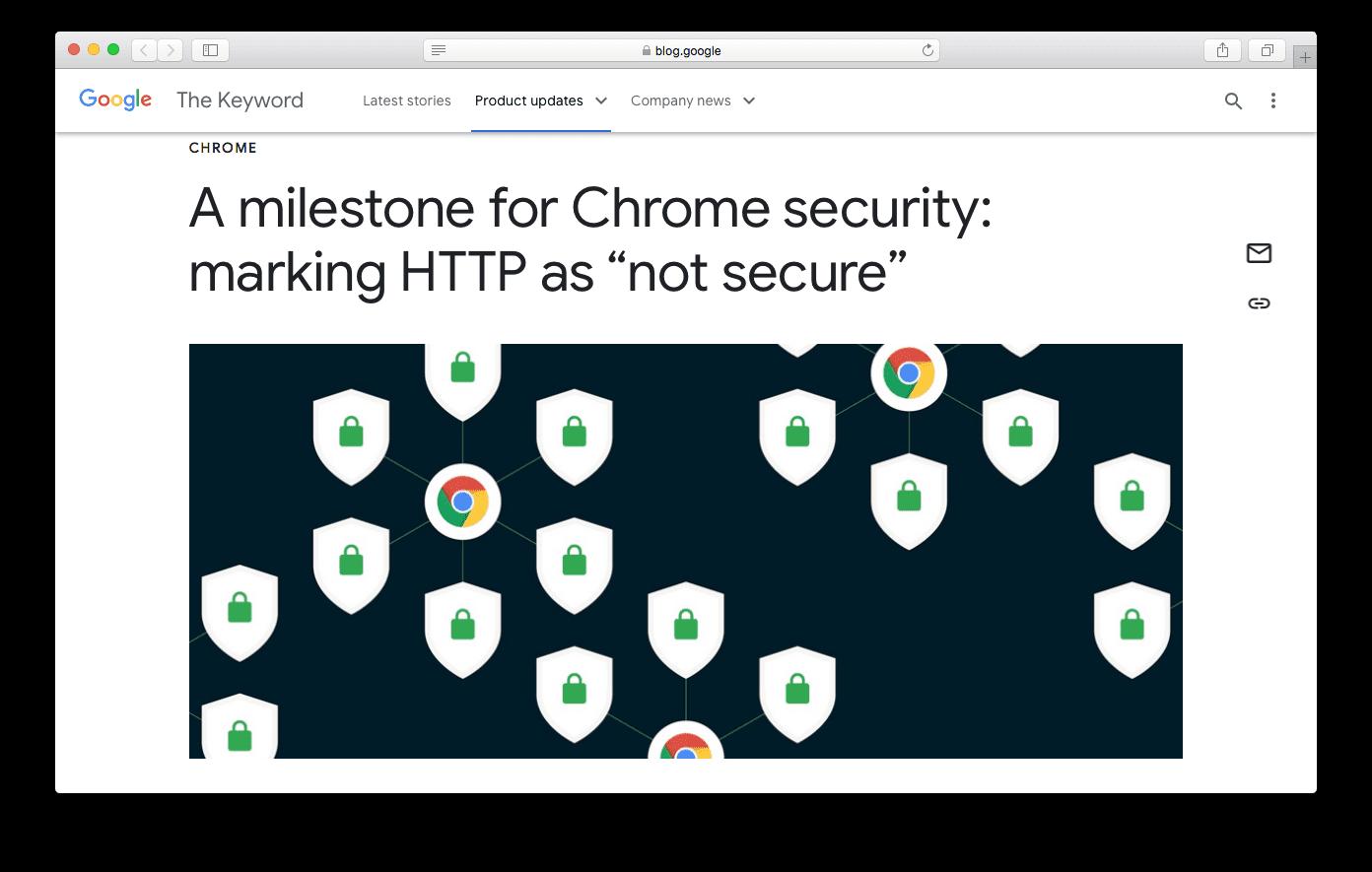Rilis Algoritma Google Terbaru tentang Keamanan Chrome