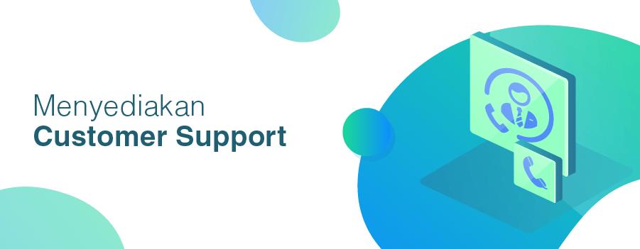 website adalah salah satu cara menyediakan customer support