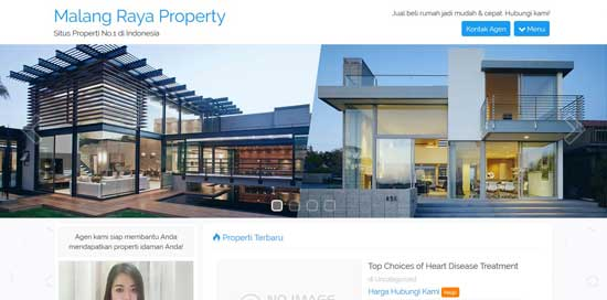 jasa desain website properti