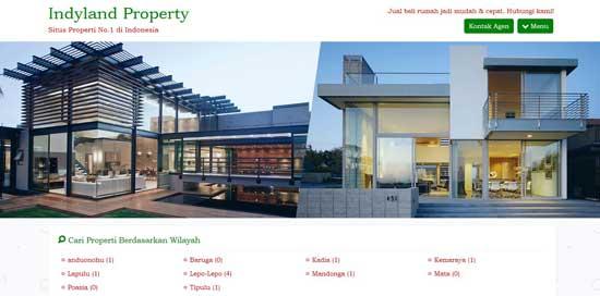jasa desain website properti kudus