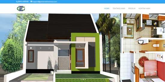 jasa desain website properti jepara