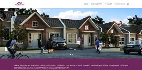 jasa desain website properti jakarta
